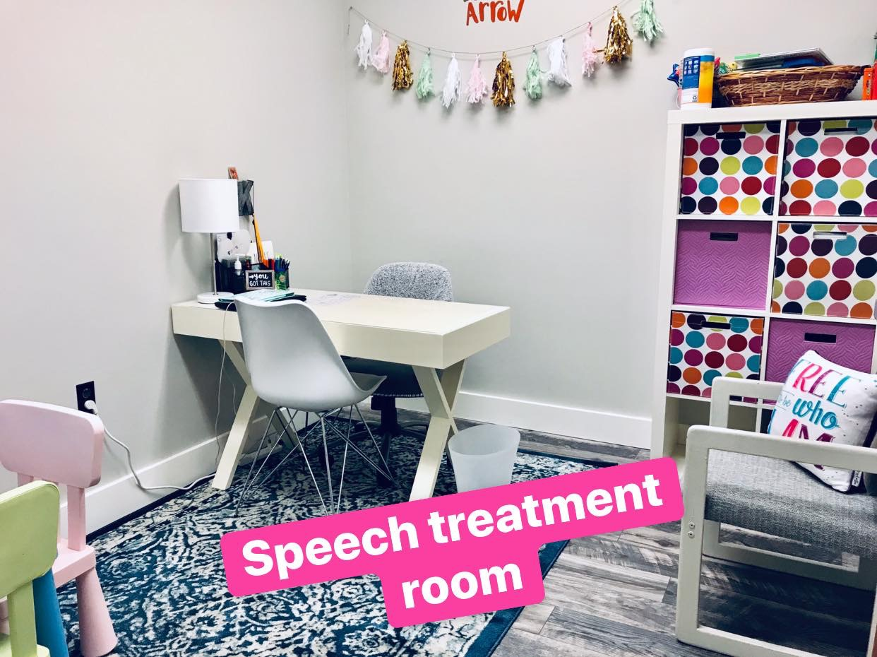cdt kids speech treatment room