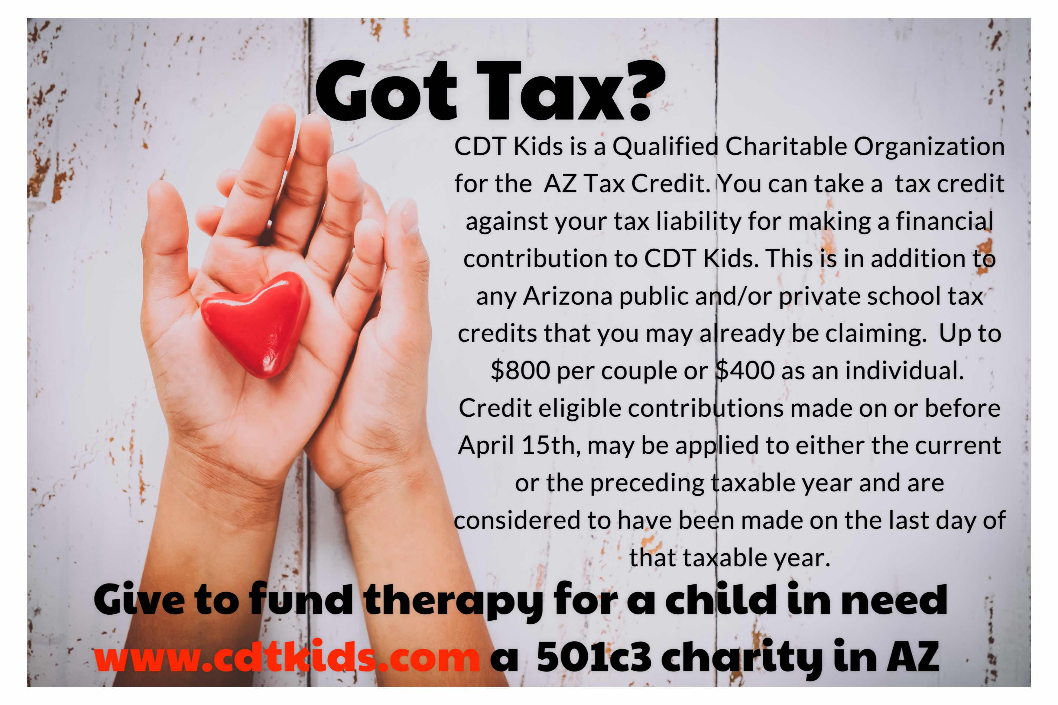 cdt kids tax credit